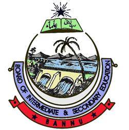 Bannu Board Inter Part 1, 2 FA, FSC Result 2021