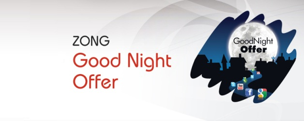 Zong Good Night Offer Unlimited Mobile Internet