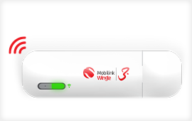 Mobilink Internet USB Device Wingle Wifi