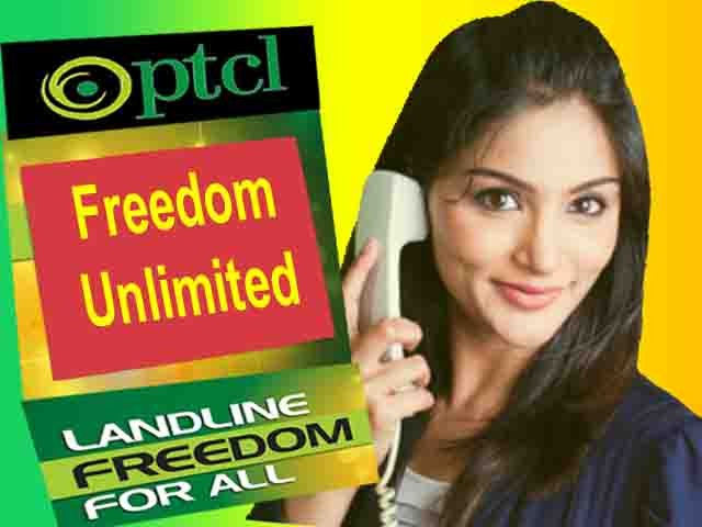 Ptcl Landline Freedom Unlimited Package 2018 Rates and Benefits