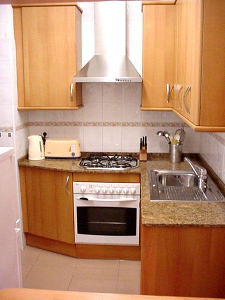Small kitchen design pictures in pakistan for Designer apartment kitchens