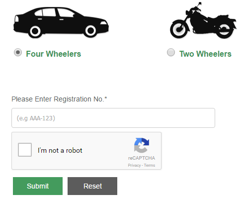Excise And Taxation Sindh Karachi Online Car Verification