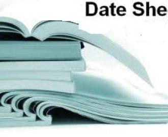 FA,FSC, ICS , iCOM Date Sheet 2021 1st , 2nd Year
