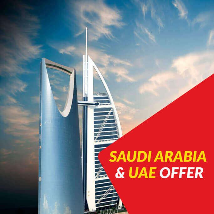 Jazz International Call Packages For Dubai, Saudi Arabia