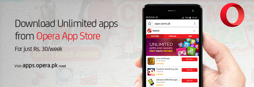 Mobilink Opera App Store For Premium Apps