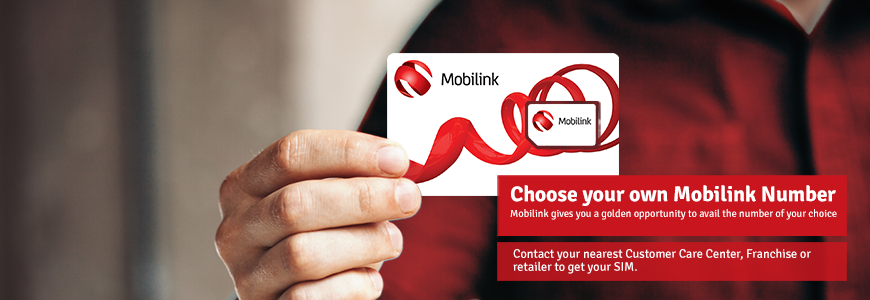 Choose Your Own Mobilink Number