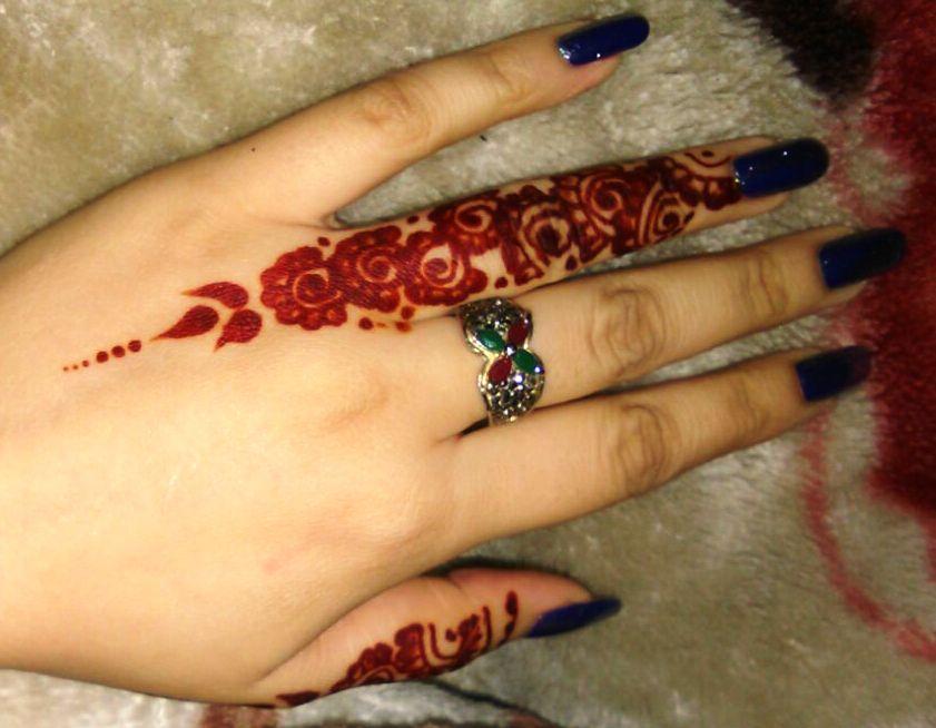 Mehndi Design For Hands Pattern