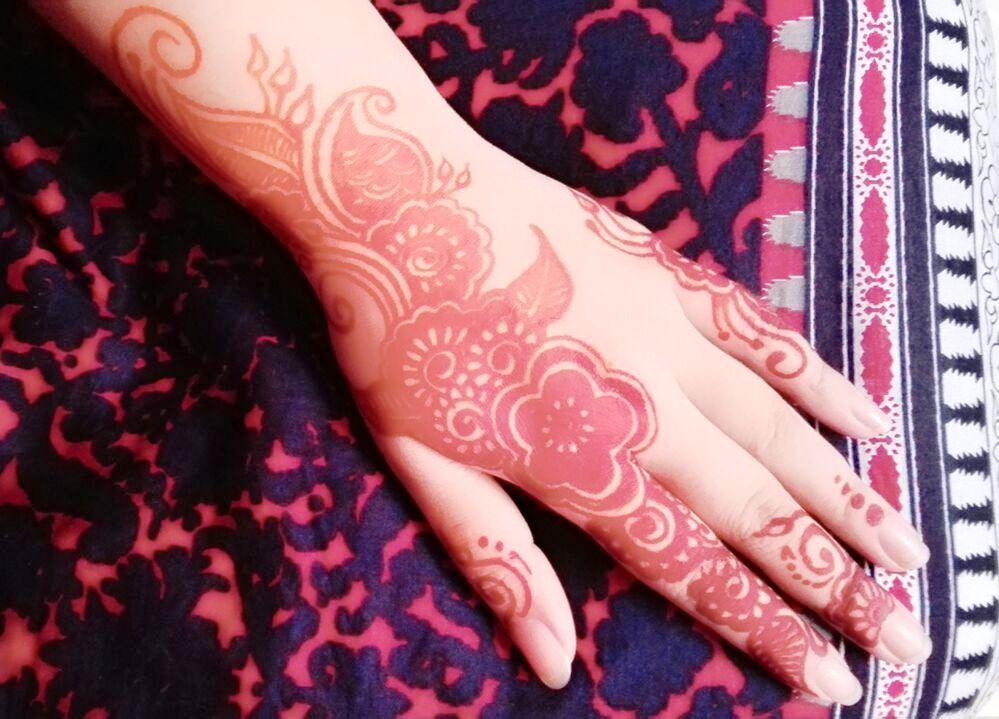 Pakistani New Eid Mehndi Designs 2021 For Hands
