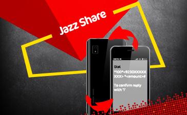 How To Share Balance In Jazz To Jazz SIM