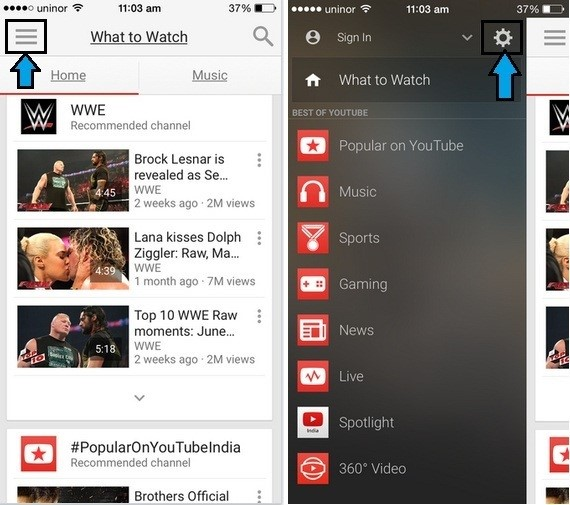 How To Delete Youtube Search History On-Iphone-Ipad-Ipod-Via-App