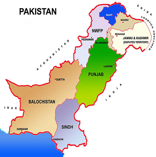 Information About Provinces Of Pakistan In Urdu - sekho com pk