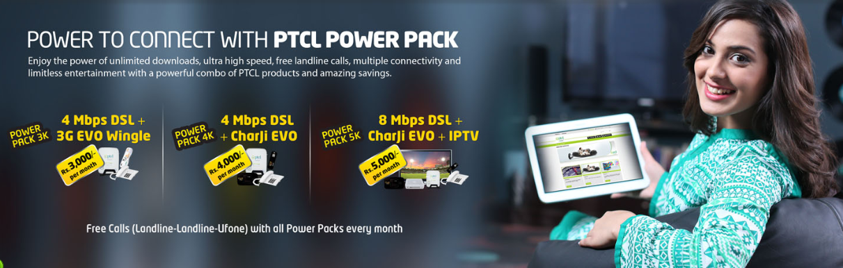 PTCL Power Pack Package Offer Rates Details