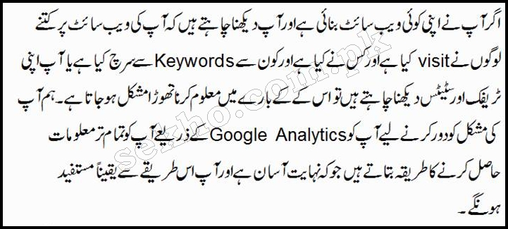 How To Install Google Analytics Code On WordPress Website In Urdu