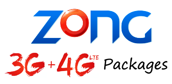 Zong Internet Packages Daily Weekly Monthly 2018 in Pakistan