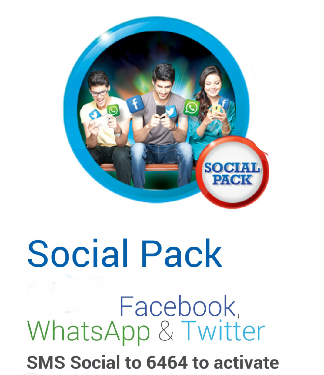 Zong Social Packages Daily, Weekly, Monthly, Facebook, WhatsApp, Twitter