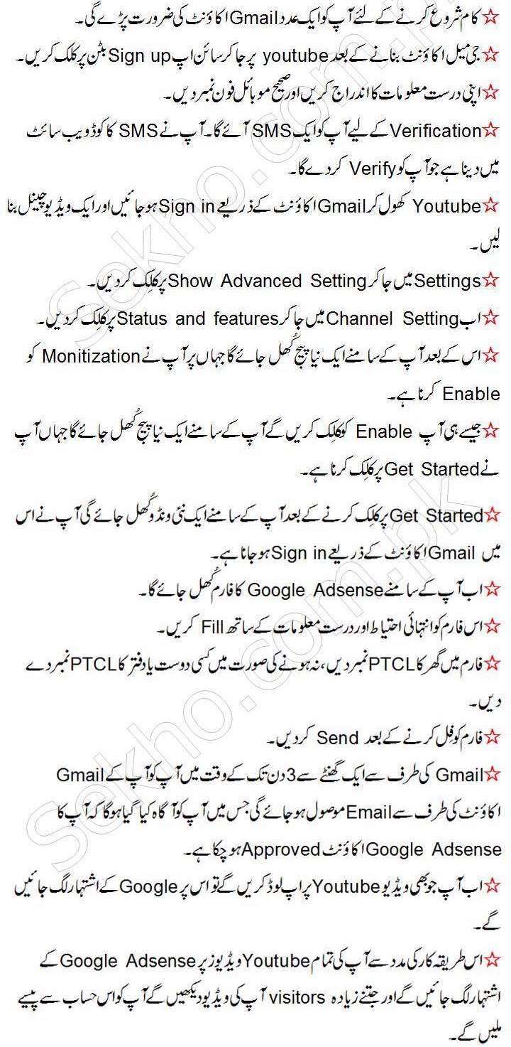 How To Make Money On Youtube In Pakistan In Urdu