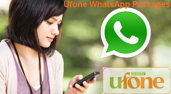 Ufone Whatsapp Packages 2018, Daily, Weekly, Monthly, Code