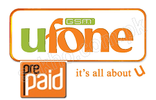 Ufone Prepaid Packages 2018, SMS, Call, 3G Internet