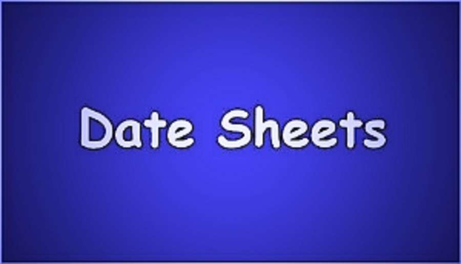 BISE Kohat FA , FSc Date Sheet 2018 Roll No Slips