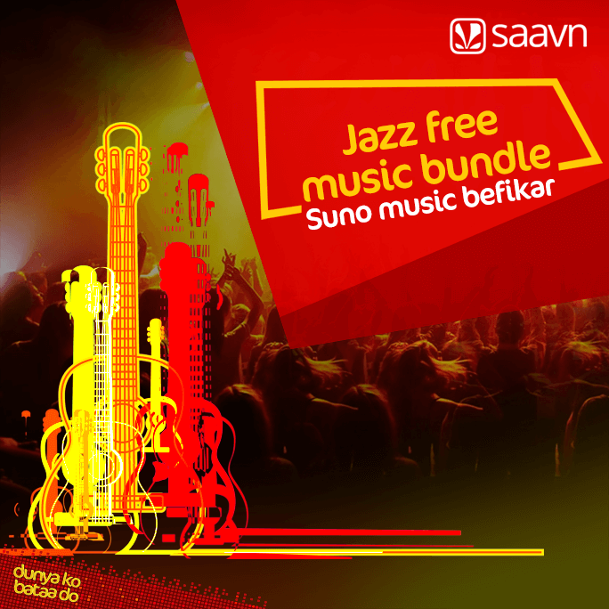 Jazz free Music Bundle Offer 2018 Daily, Weekly, Monthly Bundles