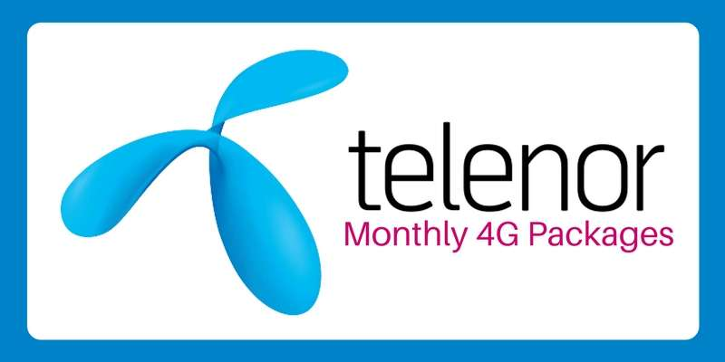 Telenor 30 Days Internet Package 2018 Subscription Code, Charges, Deactivation