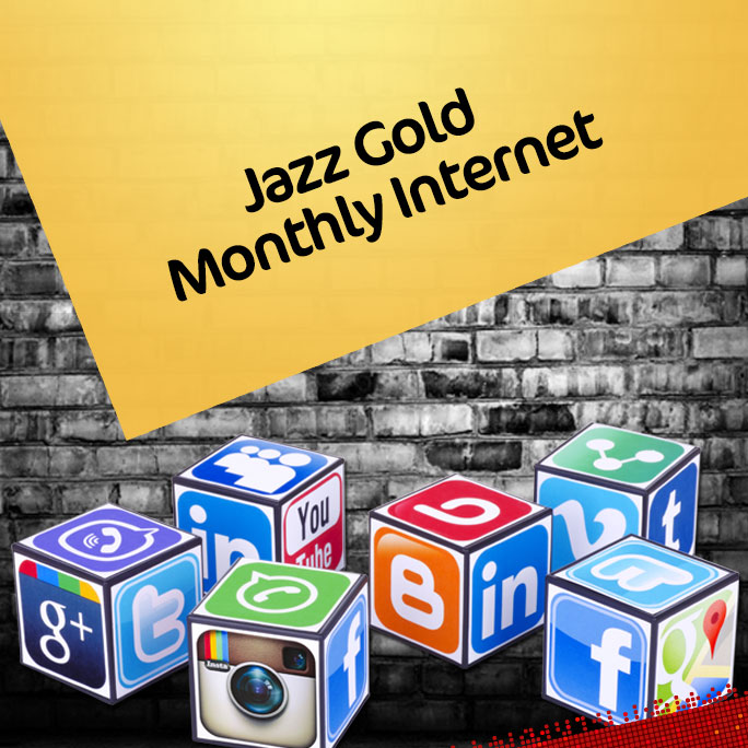 Jazz Gold Monthly Internet Package 2021 Data, Charges, Subscribe Code