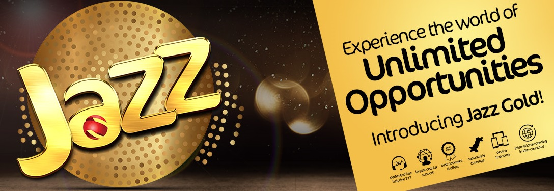 Jazz Gold Prepaid Packages, Super Advance, Monthly Offer Call And Internet