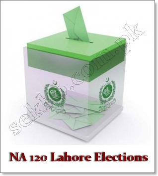 NA 120 Lahore Old City Areas, By Election Schedule, Results