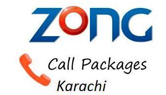 Zong Daily Call Package Karachi Sub Khi6 222, Unsub Khi7