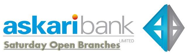 Askari Bank Saturday Open Branches Lahore, Karachi, Islamabad