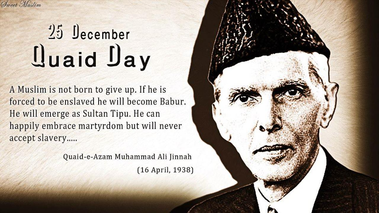 25 December Quaid E Azam Day Wishes