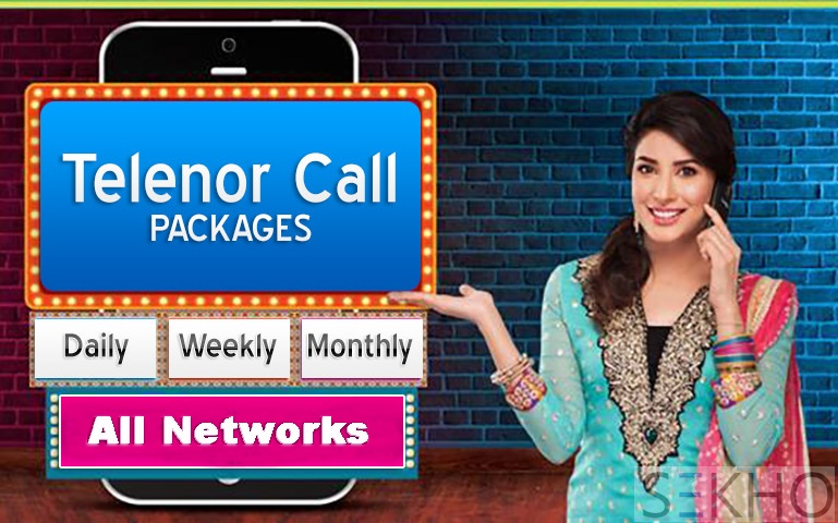 Telenor Call Packages All Network Daily, Weekly, Monthly