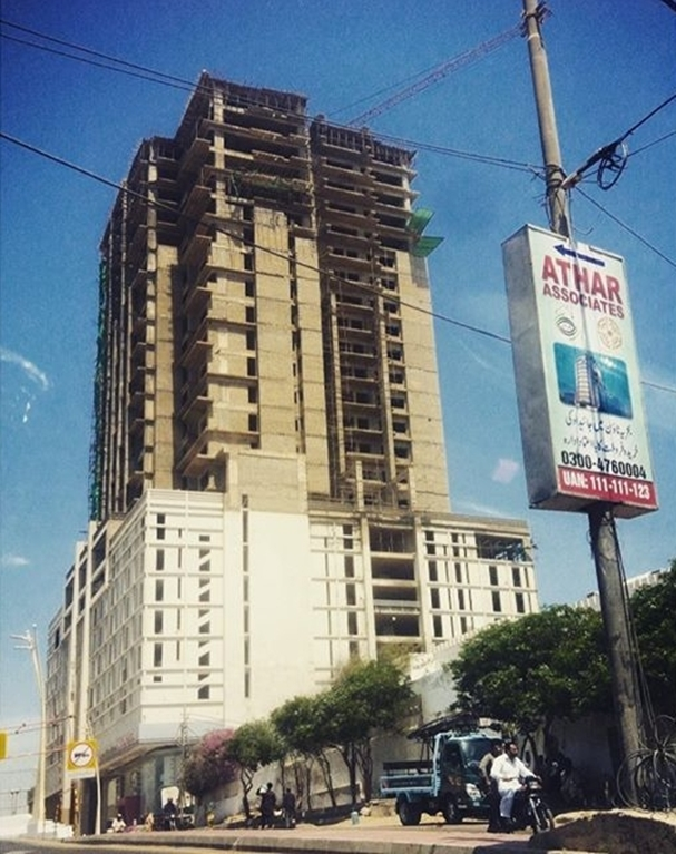 Tallest Building in Pakistan 70 Rivieria Tower Karachi