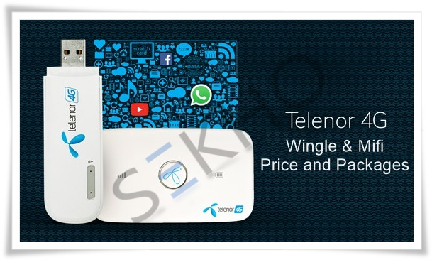 Telenor 4G Device Price And Packages 2019 In Pakistan For Wingle and Mifi