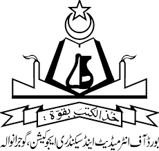 Gujranwala Board Matric Supply Examination Schedule 2019