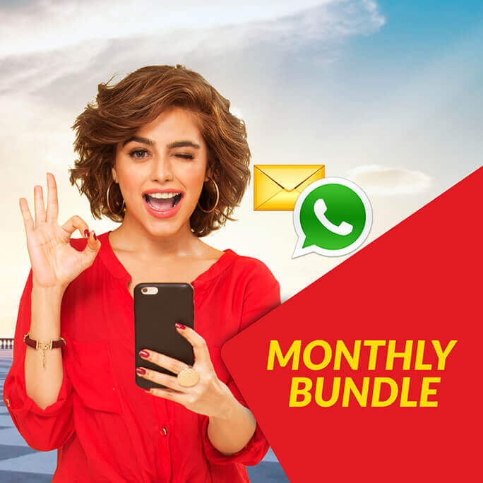 Jazz Monthly SMS Package With Whatsapp 2019