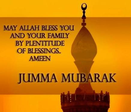 jumma mubarak wishes status 2020