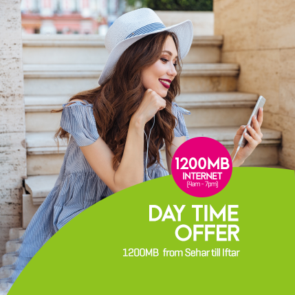 Zong Day Time Offer 2019 4am To 7pm Code
