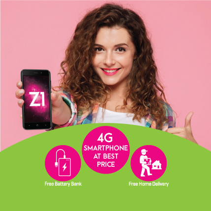 Zong Z1 Price In Pakistan Specification With Free Power Bank
