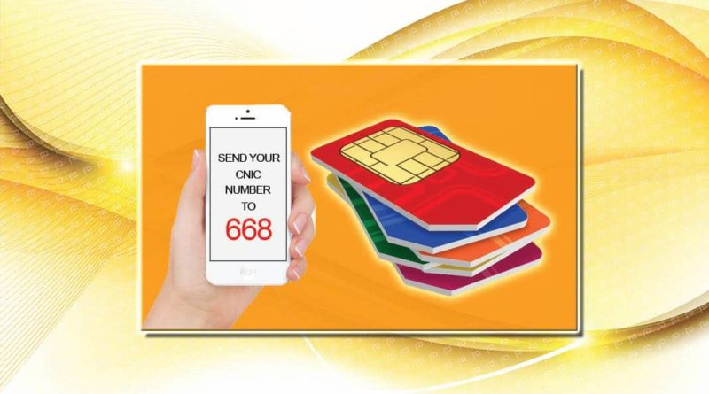 How to Check How Many SIMs Registered On My CNIC