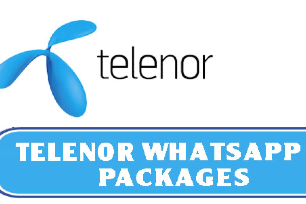 Telenor Whatsapp Packages 2021
